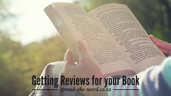 Getting Reviews for your Book