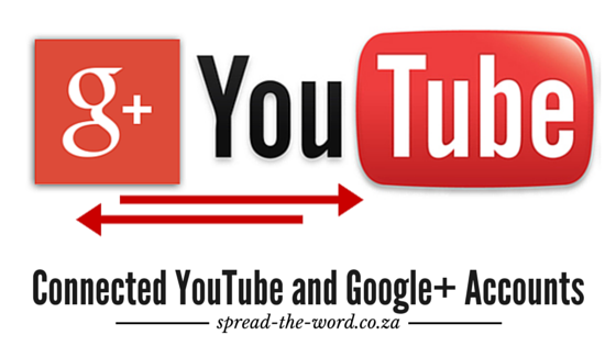 Connected YouTube and Google+ Accounts