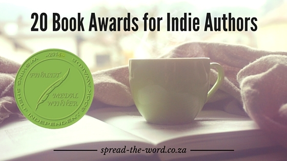 20 Book Awards for Indie Authors